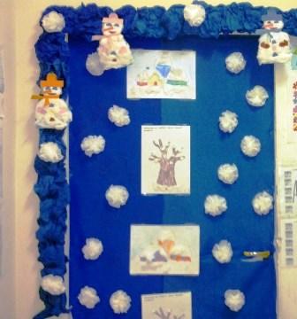 Addobbi per la scuola maestrarenata for Addobbi inverno scuola dell infanzia