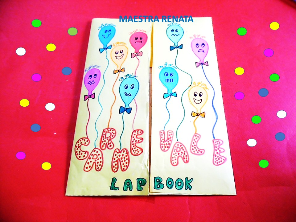 Lapbook Di Carnevale 2 Maestrarenata