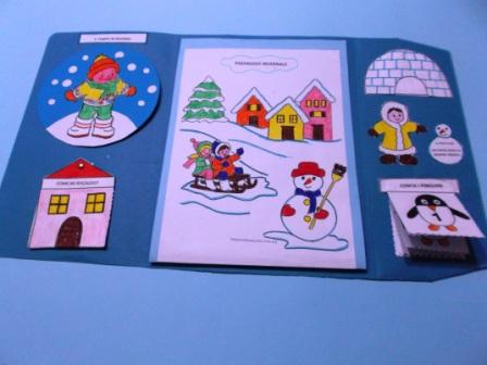 Lapbook inverno maestrarenata for Idee per l accoglienza nella scuola dell infanzia