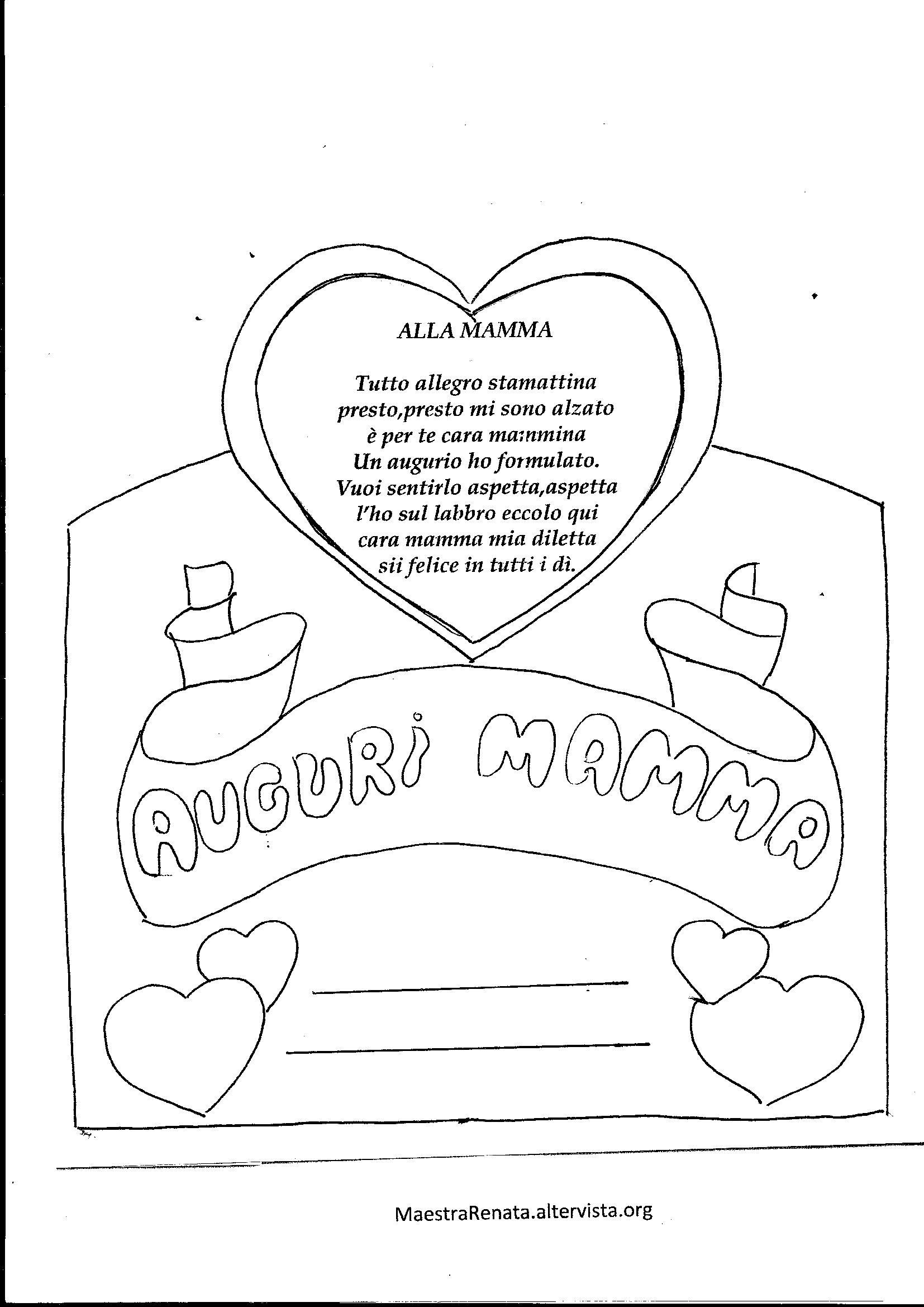 Biglietti Di Auguri Per La Mamma Maestrarenata