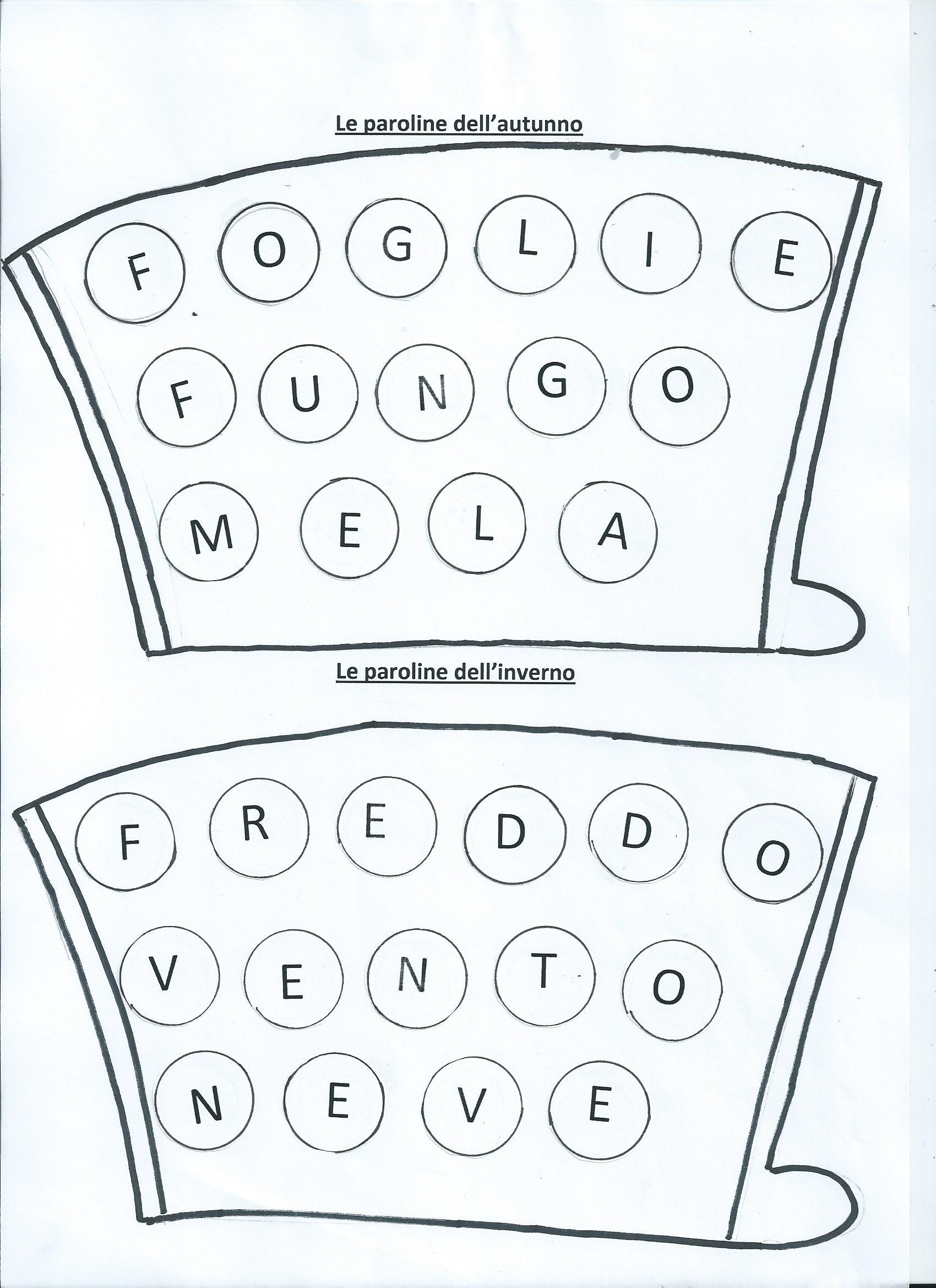 Super Lapbook letterine e paroline - MaestraRenata SR71
