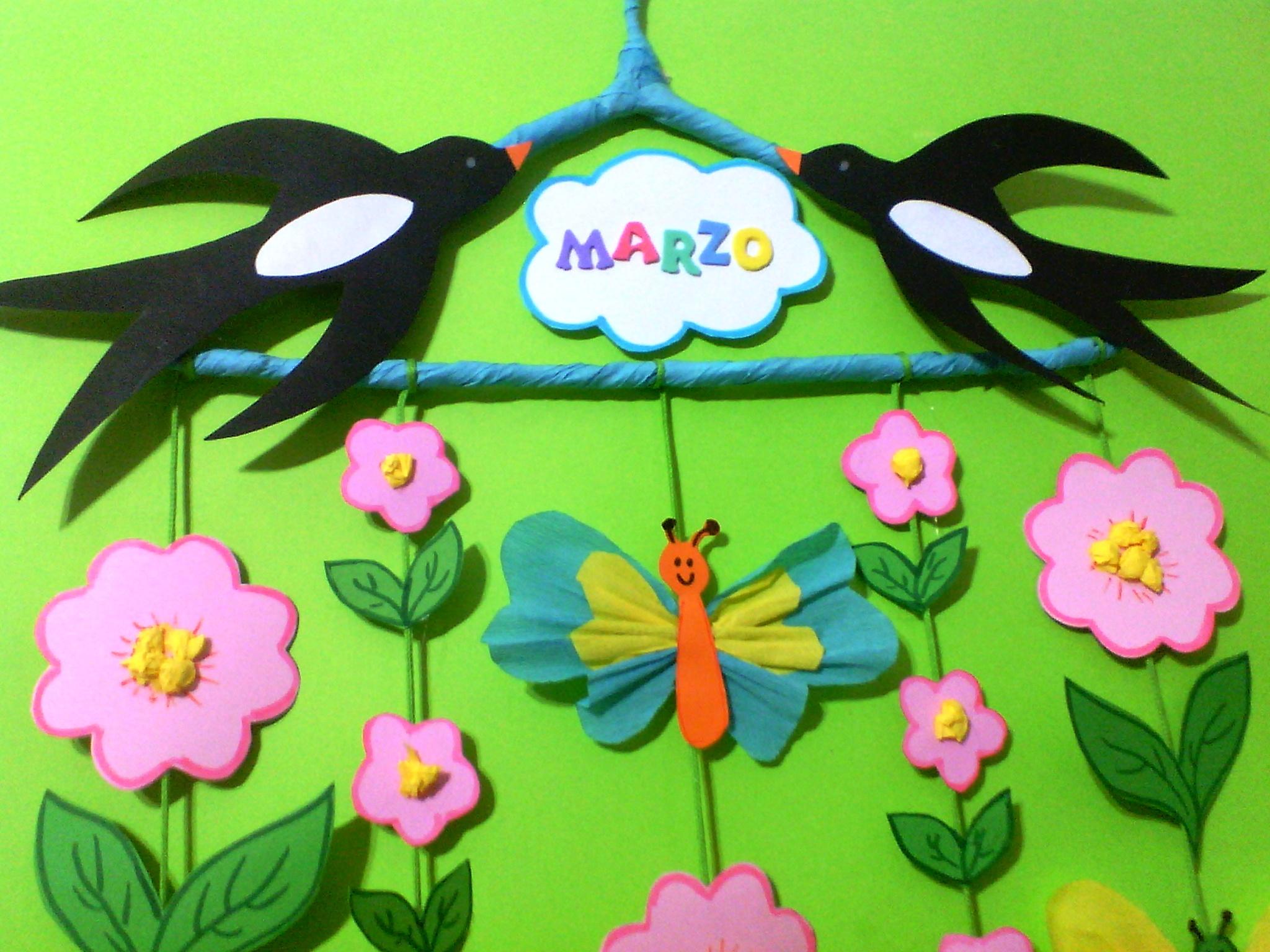 Ritorna la primavera maestrarenata for Lavoretti di primavera