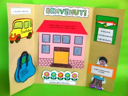 Lapbook dell 39 accoglienza maestrarenata for Idee per l accoglienza nella scuola dell infanzia