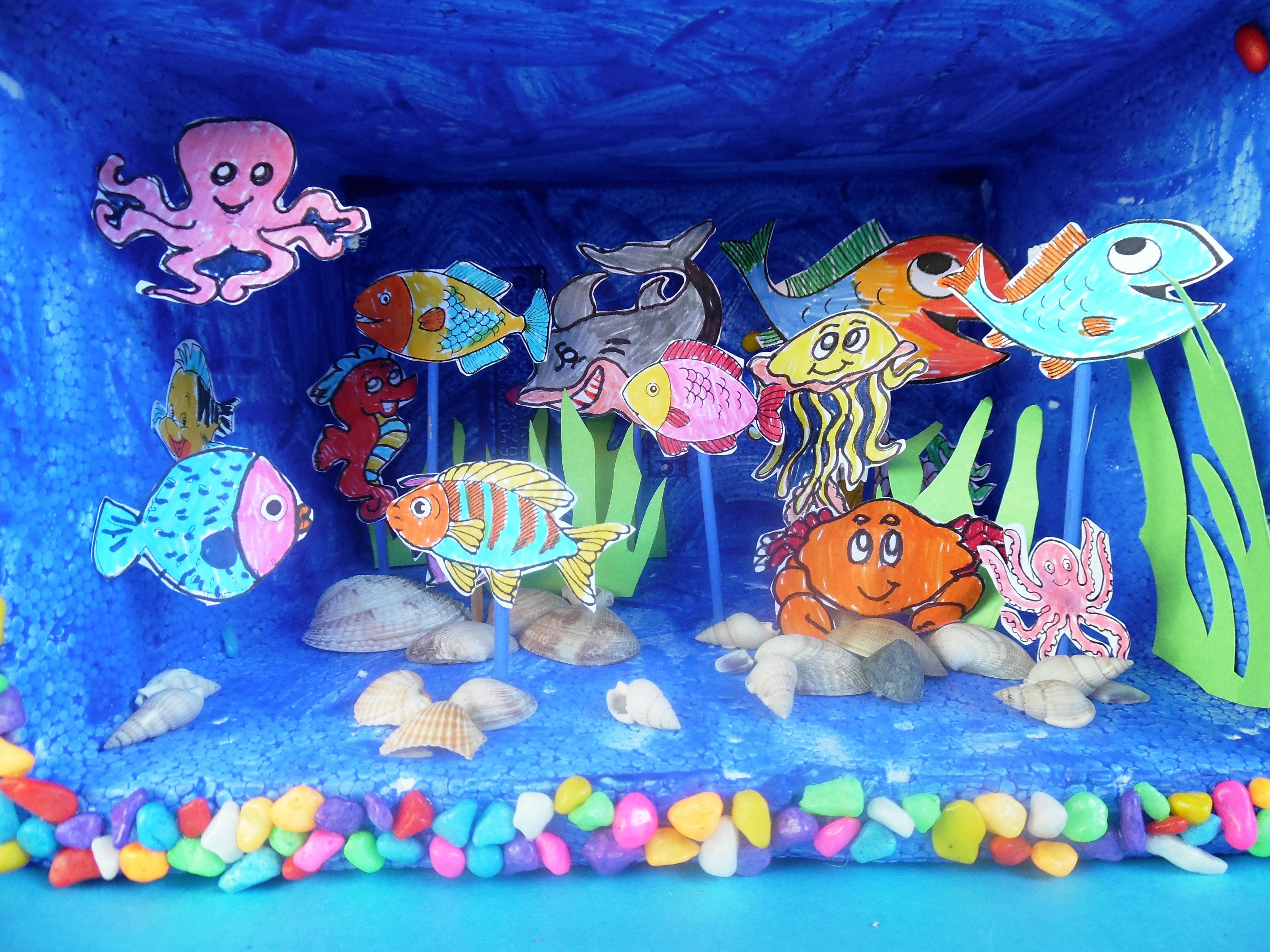 Ricordi del mare e delle vacanze maestrarenata for Filtro acquario fai da te