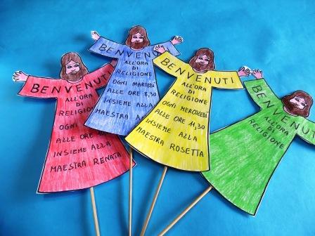 Accoglienza per l 39 ora di religione maestrarenata for Idee per l accoglienza nella scuola dell infanzia