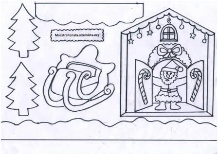 La Casa Di Babbo Natale Maestrarenata