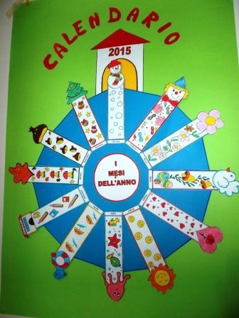 Calendario Bambini Scuola Infanzia.I Mesi Dell Anno Maestrarenata