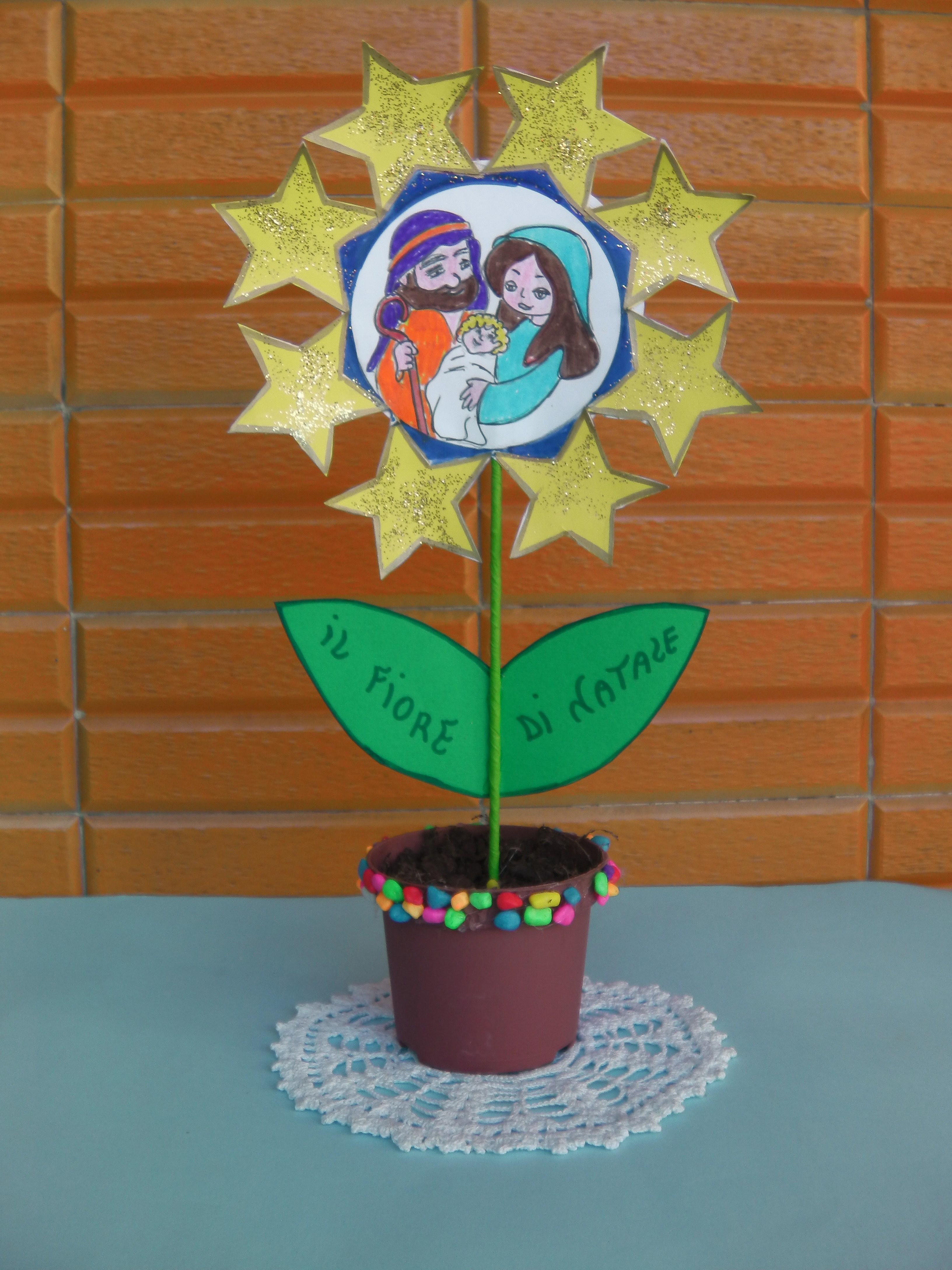 Lavoretti Di Natale Per Bambini Catechismo.La Religione In Un Fiore Maestrarenata