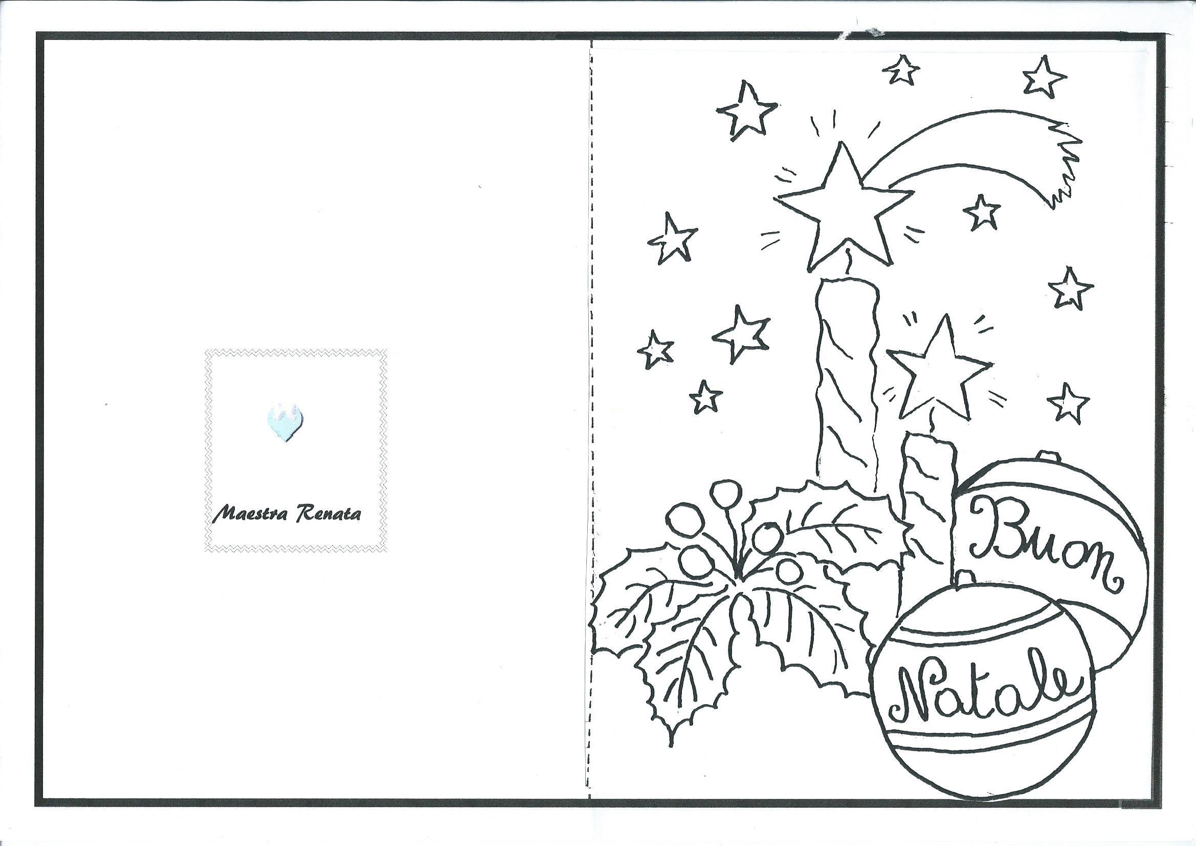 Disegni Di Natale Maestra Mary.Cartoncino Di Natale Maestra Mary Disegni Di Natale 2019