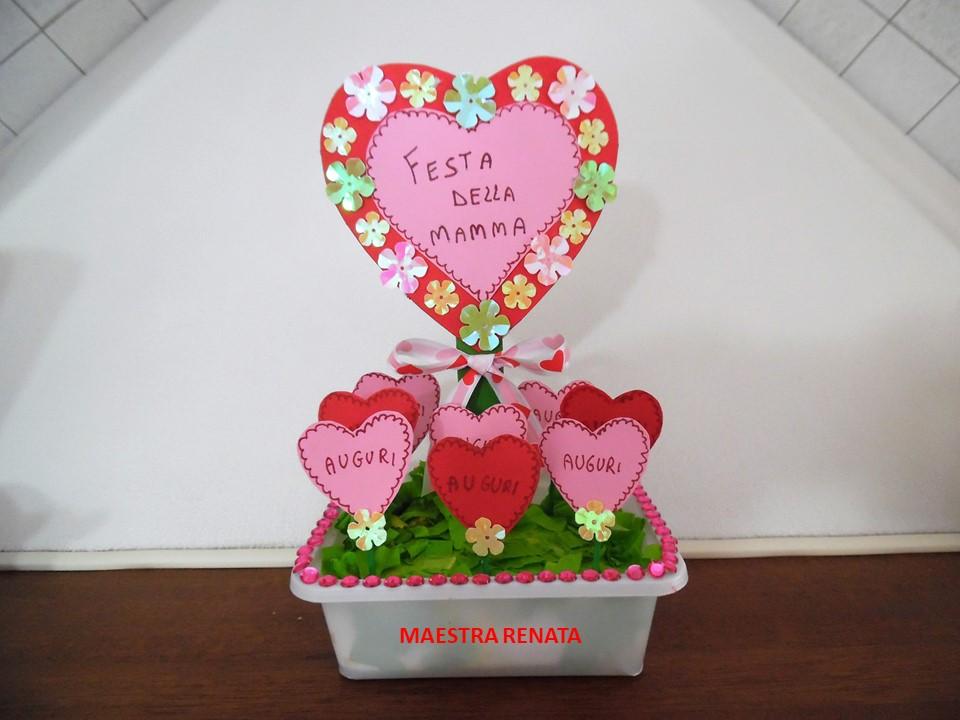 Per La Festa Della Mamma Una Piantina E Una Poesia