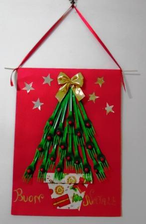 Lavoretti Di Natale Per Addobbare L Aula.Albero Di Buon Natale Maestrarenata